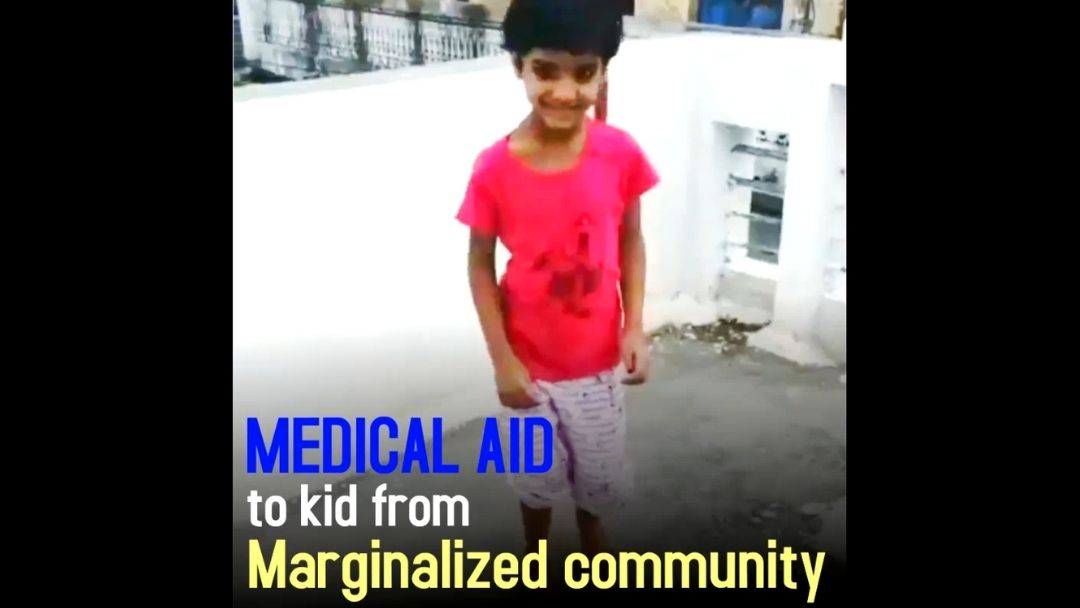 Medical aid to a bright young kid | Rajasthan