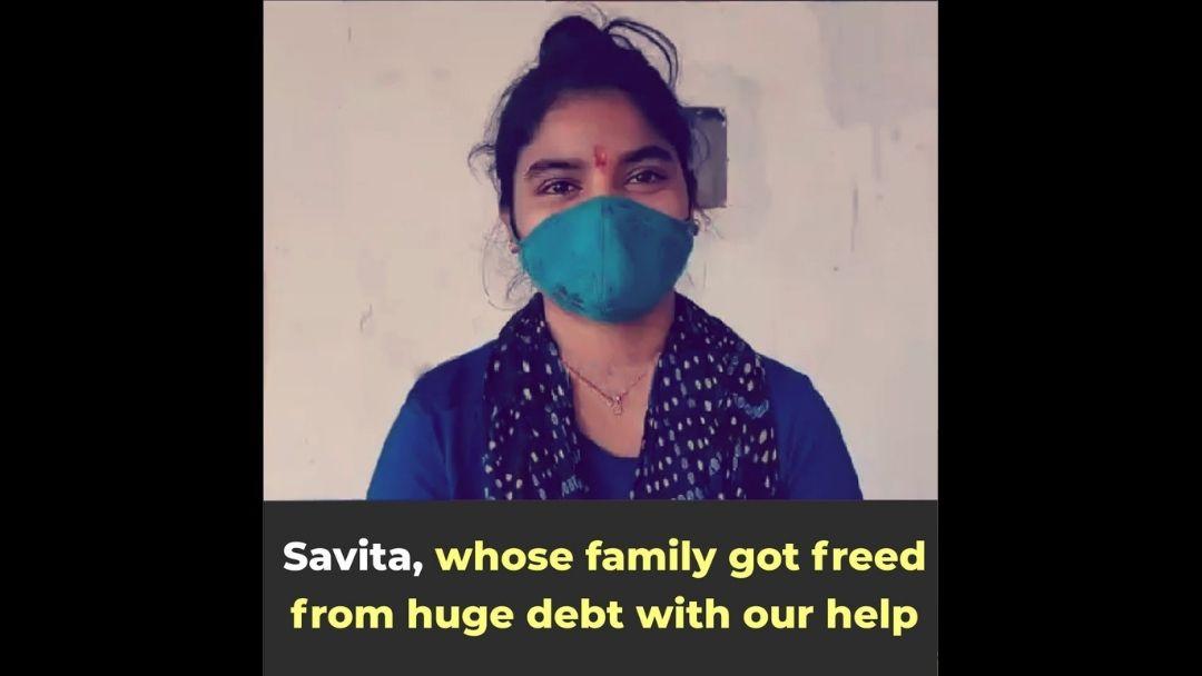 Freed from loan sharks debt trap, she thanks Sewa Nyaya Utthan