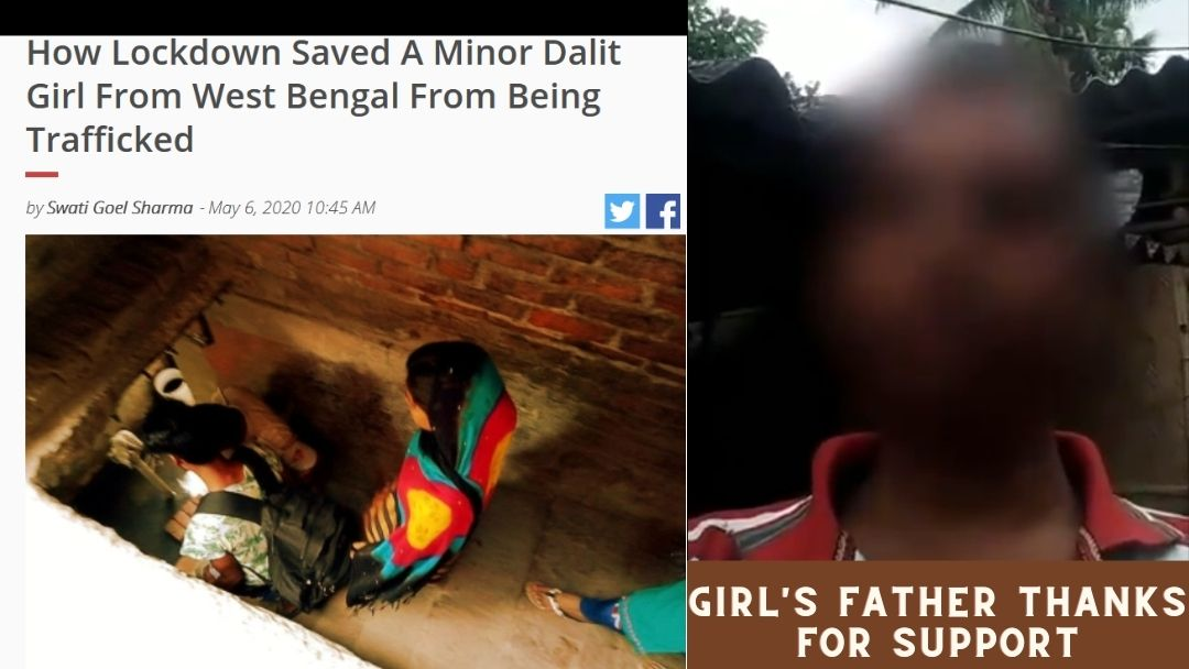 Father of Rescued Minor Girl Thanks for Support