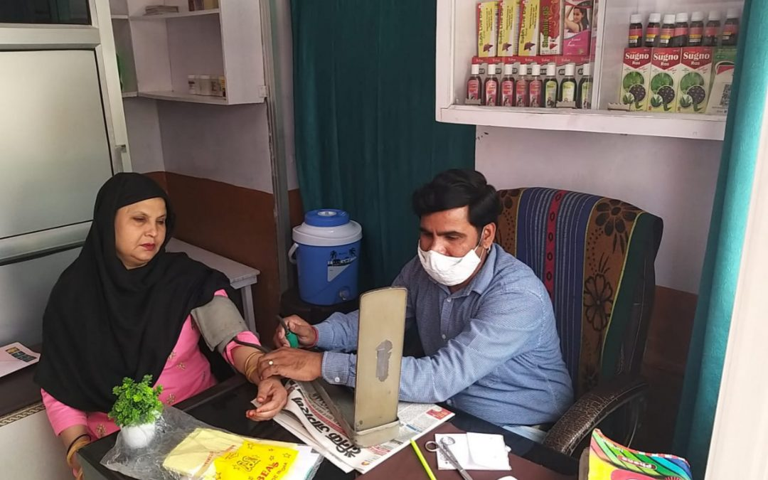When We Helped An Ayurveda Practitioner Whose Shop Was Burnt To Ashes In Delhi Riots