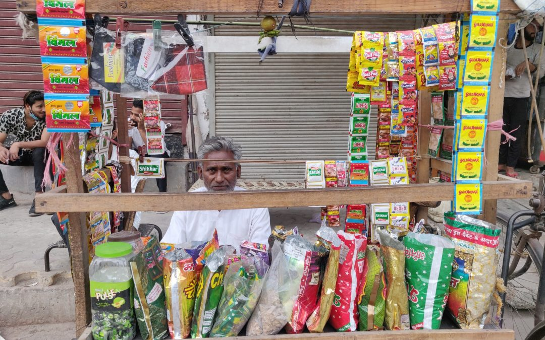 A Riot-Hit Elderly Divyang Couple Revives Their Stall With Our Support