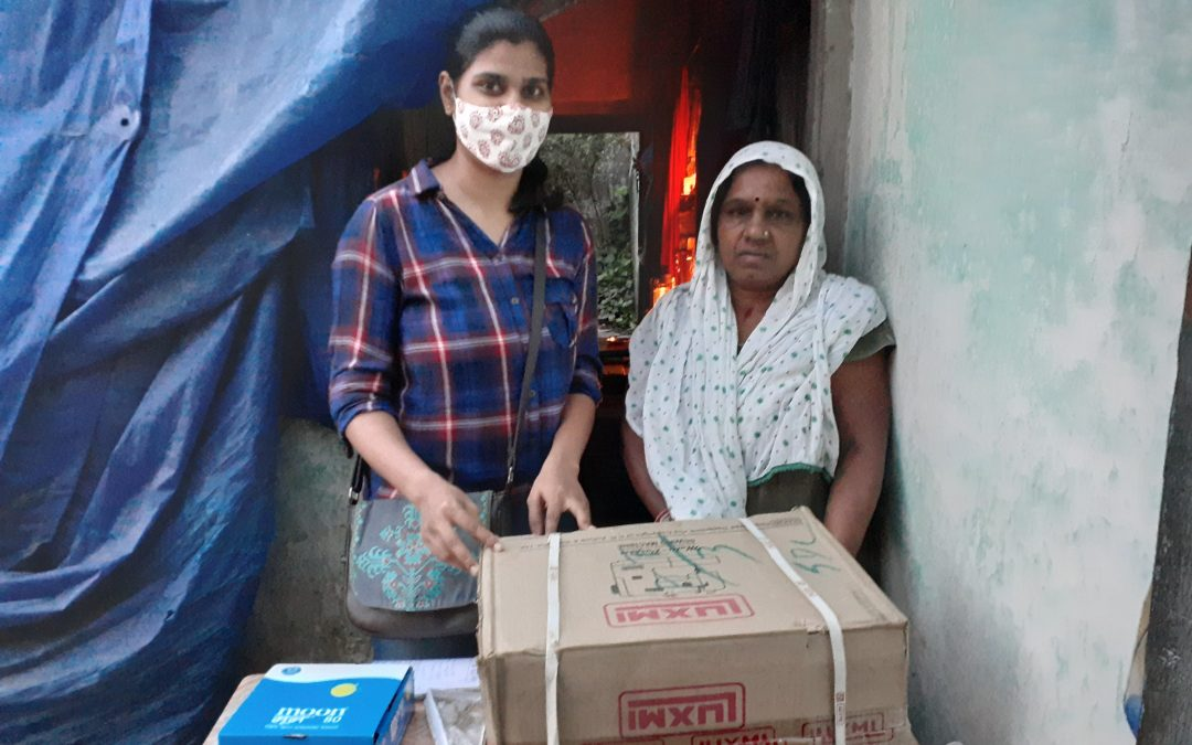 Widow With House And Livelihood Destroyed Gets New Lease Of Life After Our Help